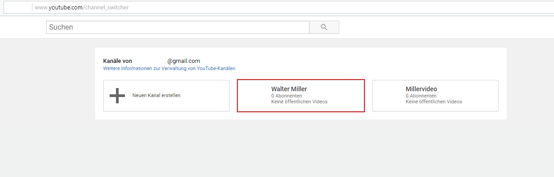 Youtube Kanal Anmelden